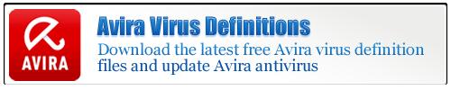 Avira Virus Definitions