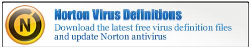Norton Virus Definitions