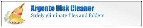 Argente Disk Cleaner