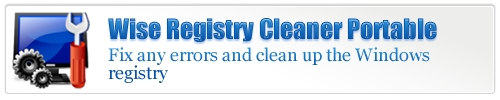 Wise Registry Cleaner Portable