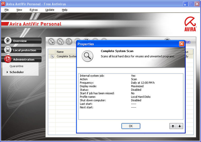 antivir version 9 not updating